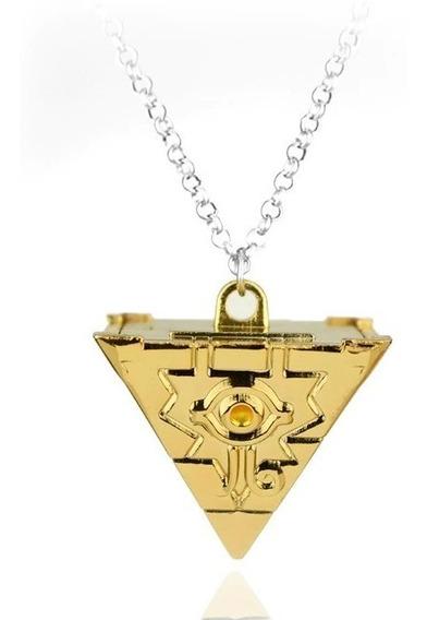 Colar Cosplay Yugioh Enigma Do Milênio 3d