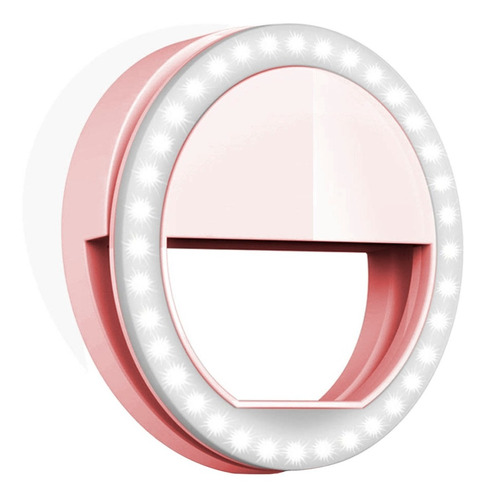 Aro De Luz Led Selfie Anillo Celular Maquillaje Ring Tablet