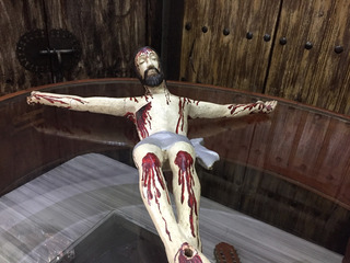 Cristo De Madera Antiguo