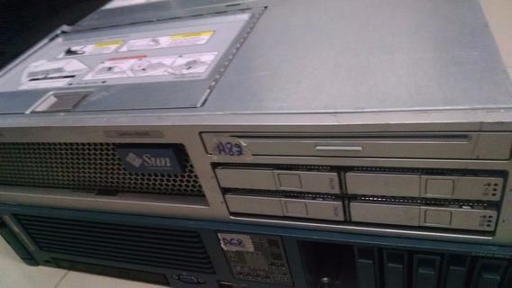 Servidor Sun X4200 2 Processador 2 Fontes 8gb Ram 2 Sas 72gb