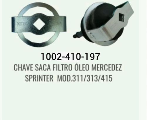 Imagem 1 de 2 de Saca Filtro Óleo Mercedez Sprinter Mod. 311/313/415  Kf-197
