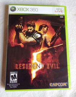 Resident Evil 5 - Xbox 360 Perfecto Estado