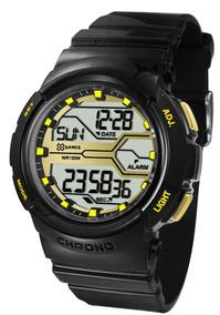 Relógio X-games Feminino Preto Digital Xfppd046bxpx