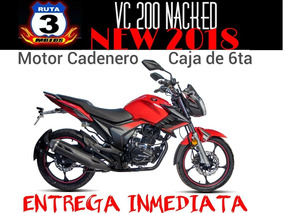 Moto Gilera Vc 200 Nacked New 2018 0km