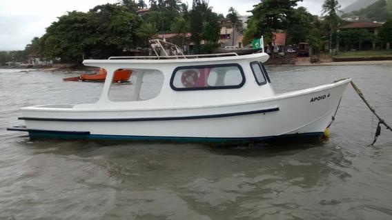 Barco Casco De Fibra De Vidro
