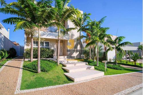 Casa Com 4 Dormitórios À Venda, 626 M² Por R$ 5.300.000,00 - Loteamento Mont Blanc Residence - Campinas/sp - Ca13154