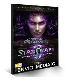 Starcraft 2 Heart Of The Swarm Hos Pc - Português Br Cd-key