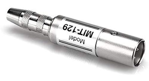 Imagen 1 de 1 de Hosa Technology Mit129 Transductor De Impedancia Ts De 14 Pu