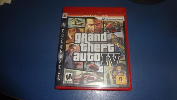 Jogo Gta 4 Grand Theft Auto Ps3 Frete 15 Reais