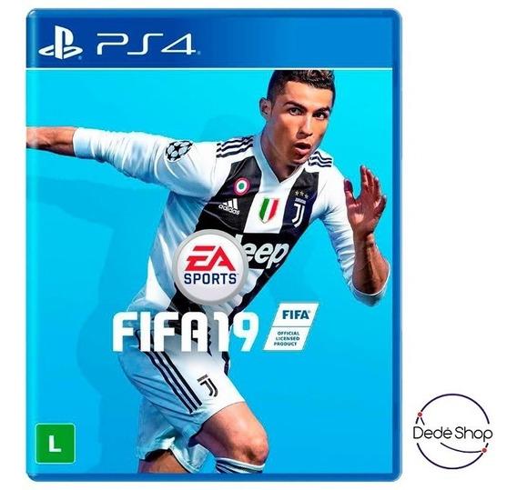 Fifa 19 Playstation 4 Ps4 Xbox One Mídia Fisíca Português