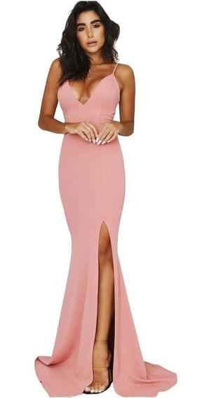 Vestido De Formatura - Vestido Longo Para Madrinha Festas