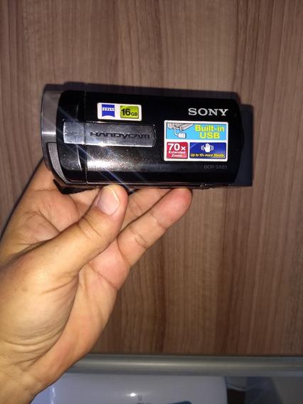 Filmadora/câmera Sony Handycam Dcr-sx85, 16 Gb + Micsd 8 Gb