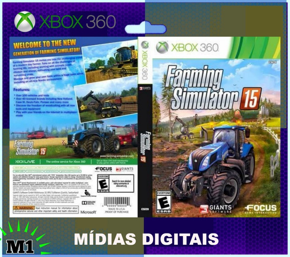 Farming Simulator 15 Completo Xbox 360 Download Na Live Xbox