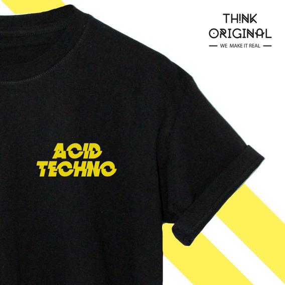 Playera Acid Techno