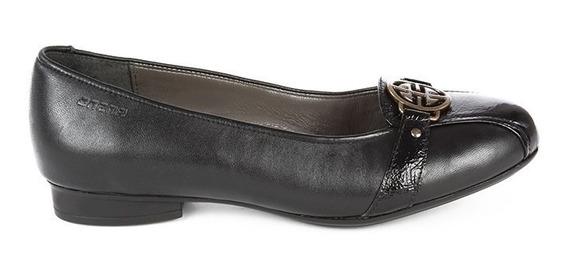 Zapatos Calzado Balerina Flats Vestir Dama 9511 Onena Negro