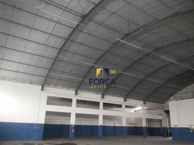 Galpão Para Alugar, 1615 M² Por R$ 24.200/mês - Cumbica - Guarulhos/sp - Ga0484
