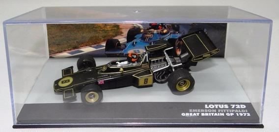 Lendas Brasileiras Lotus 72d Emerson Fittipaldi 1972 S/ Acri