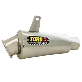 Escape Toro T-3 Aço Inox 304 Cg 160 2015/ Fan 160 2016 - 006