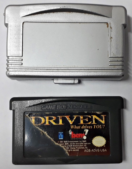 Jogo Driven What Drives You Gameboy Advance Gba Cartucho