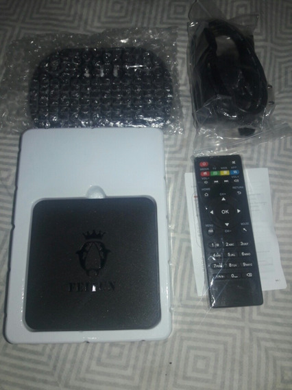 Tv Box(android 4.4) 2ram-16rom + Teclado Pad