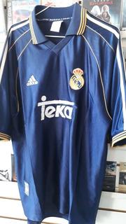 Camiseta Del Real Madrid Del 2000 Alternativa Orig