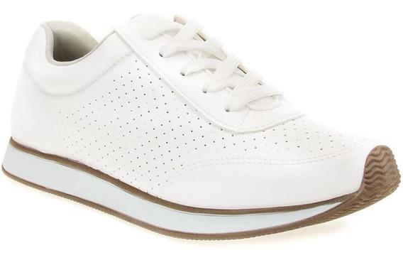 Tenis Jogging Via Marte Feminino 17-16501 Branco