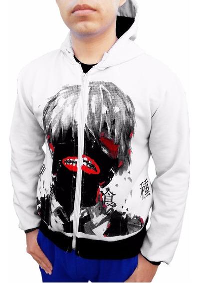 Sudadera Cosplay Tokyo Ghoul Kaneki Chamarra Anime De Moda
