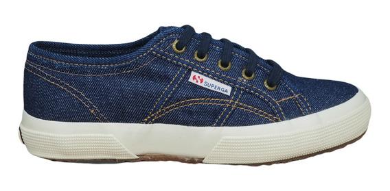 Tênis Superga 2750 Cotu Jeans Blue Jeans