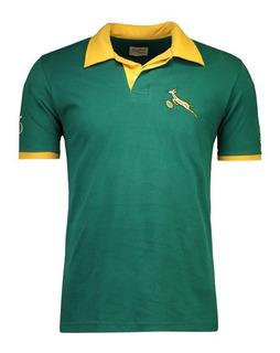 Camisa Retrômania Springboks 1995 Rugby