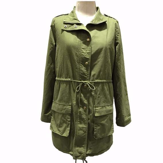 Parka Campera Gabardina Mujer Fight For Your Right