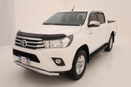 Toyota Hilux Srv 4x2 Mt 2017