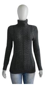 Blusa De Frio Feminina Trico Gola Alta Trico Inverno Cores