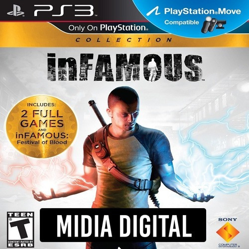 Ps3 Psn* - Infamous Collection
