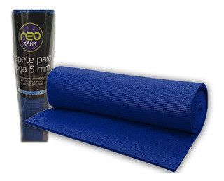 Tapete Para Yoga Mat Ejercicio De 5mm (milímetros)