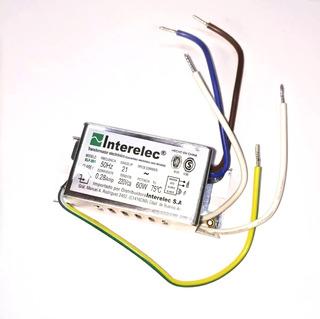 Transformador Electrónico Dicroica 12v 60w 0.28a
