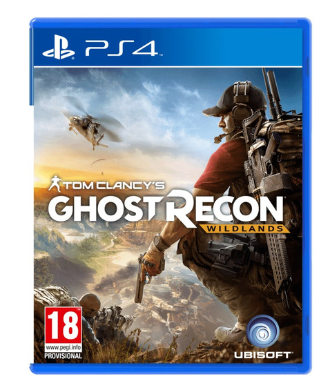 Ghost Recon Wildlands Ps4 Original Física Português Tiro