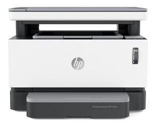Impresora multifunción HP Neverstop 1200A 110V - 127V blanca y gris