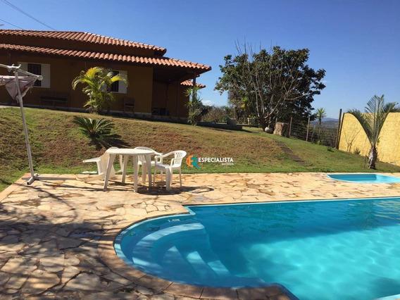 Sítio Mobiliado Com 3 Quartos *aluguel Para Moradia*, 1.430 M² - Bonanza - Santa Luzia/mg - Si0003