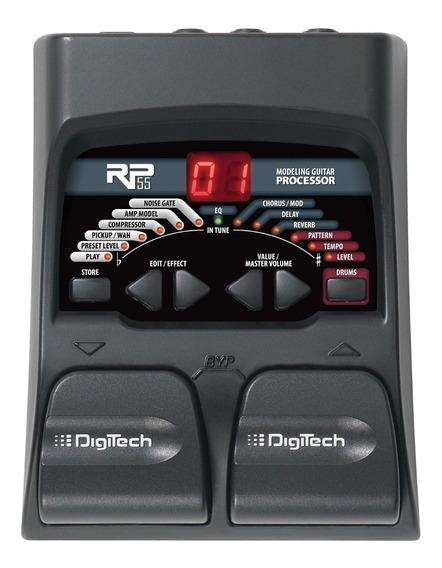 Pedalera Guitarra Electrica Digitech Rp55 Multiefecto Cuotas