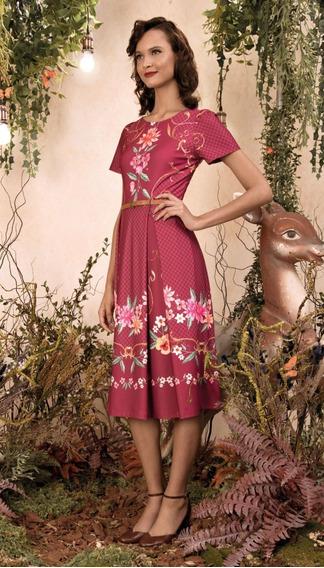 Antix Vestido Felicidade I Vinho Com Tag R80983 Promoção