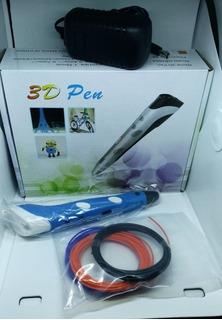 Pen 3d Con 3 Filamentos