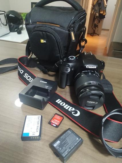 Câmera Dslr Canon T3 + Lente 18-55 Fotos Reais