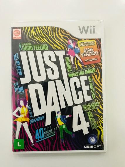 Jogo Just Dance 4 - Nintendo Wii - Original - Fisica