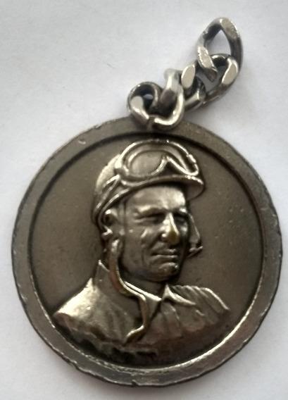 Medalla Llavero Juan Manuel Fangio
