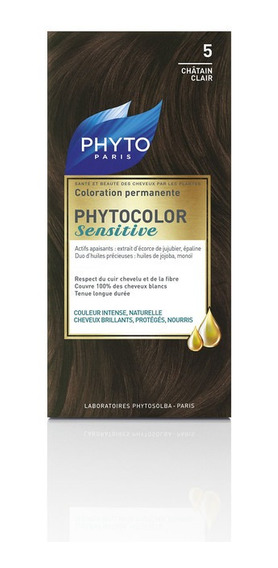 Phytocolor Sensitive # 5 Castaño Claro