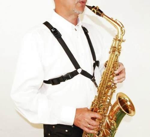 Correa Arnes Bg S40sh Para Saxo Alto Tenor Baritono Cuotas
