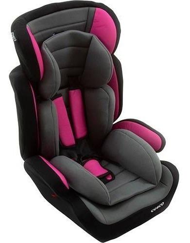 Cadeira Para Auto Tour Cinza E Rosa 9 A 36kg - Cosco