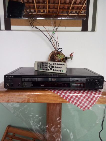 Cd/dvd Player Sony Mod. Dvp S 560 D. Soround 3d