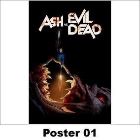 Poster/adesivo Série 30x40 Ash Vs. Evil Dead (01)
