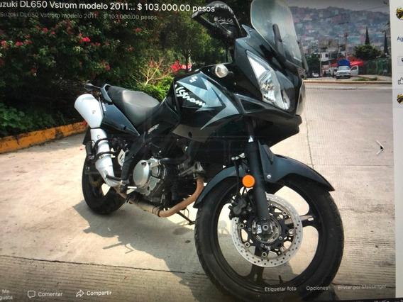 Suzuki Vstrom Dl 650 Modelo 2011..... Excelente Maquina !!!!